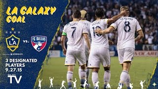 Video Gol Pertandingan La Galaxy vs FC Dallas