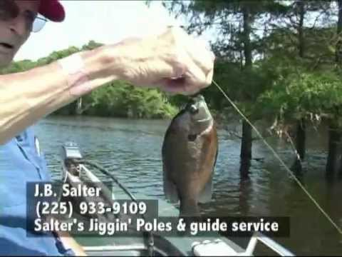 JB Salter, Bream Fishing In Lake Henderson, Louisiana