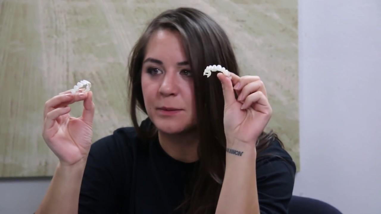 Youtube Video Instasmile vs Press On Veneers by Brighter Image Lab