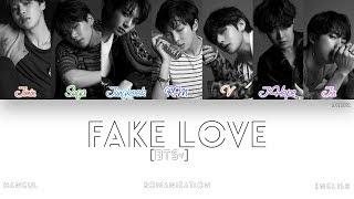Download [HAN|ROM|ENG] BTS (방탄소년단) - FAKE LOVE (Color Coded Lyrics)