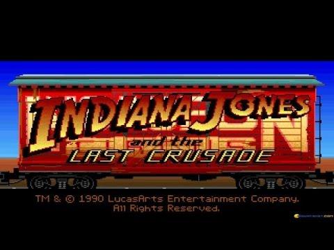 Indiana Jones and the Last Crusade gameplay (PC Game, 1989) thumbnail