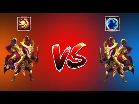 ASURA 8/8 SACRED LIGHT| VS | ASURA 8/8 BULWARK | CASTLE CLASH