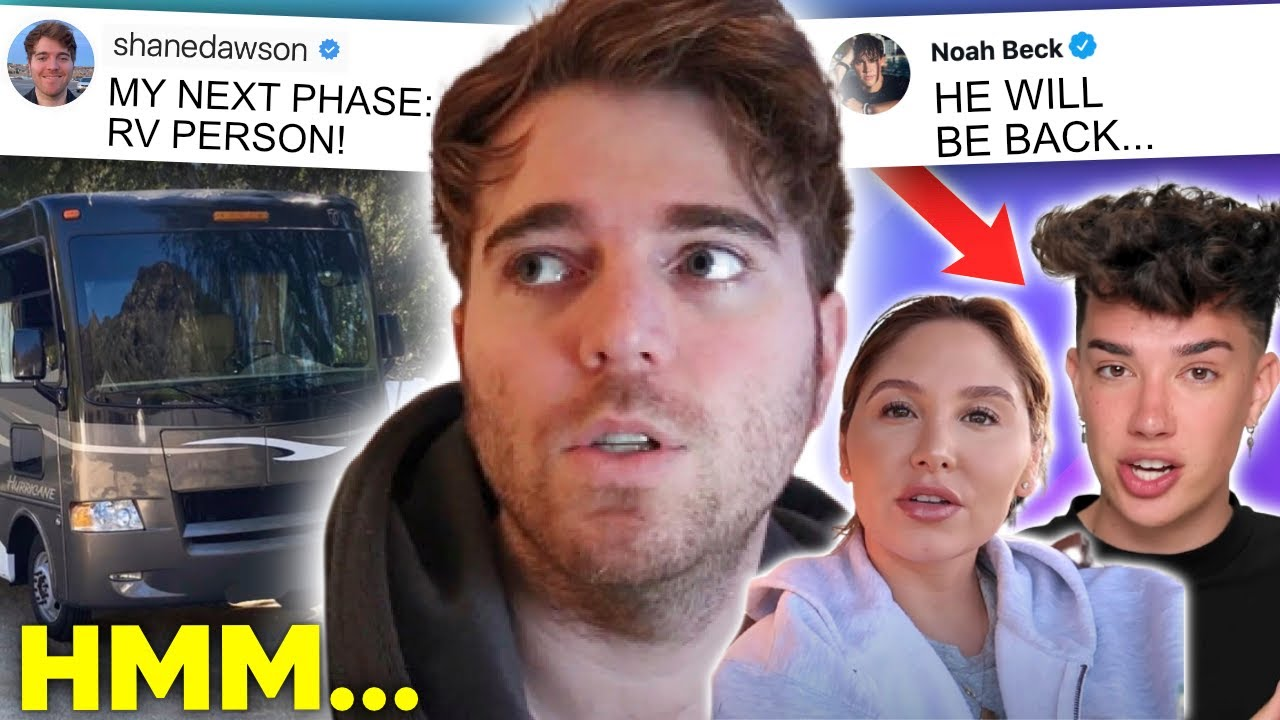 Shane Dawson's COMEBACK plan, James Charles RETURNS, Catherine SPEAKS OUT about rumours...