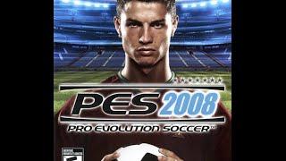PES 2008 Para PSP Gameplay