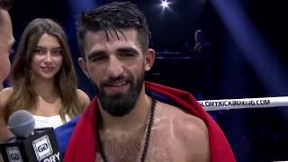 GLORY 65: Marat Grigorian Post-Fight Interview