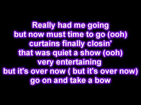 Rihanna - Take a Bow [Lyrics on Screen]