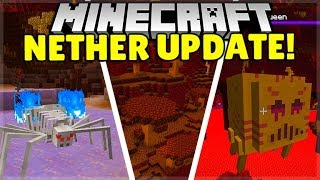 IS The NEXT Minecraft 1.15 Update A Nether UPDATE?!?!