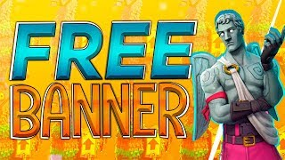 ⭐️FREE FORTNITE BANNER TEMPLATE⭐️- 2018 PHOTOSHOP CC et CS6