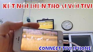 Cách kết Nối Điện Thoại Iphone Với TIVI - Cáp A5 - 01