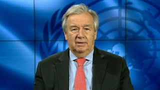 UN Chief on the launch of the policy brief on Education and COVID-19