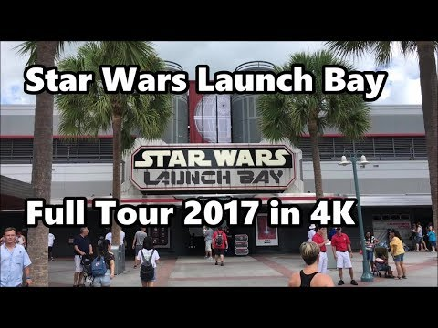 Star Wars Launch Bay   Full Tour 2017 in 4K   Disney's Hollywood Studios   Walt Disney World