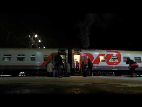 Новосибирск Главный, поезд Новосибирск - Красноярск