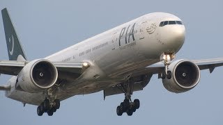+40 BIG Aircraft Landing London Heathrow Airport (Incl. Go Arround!)