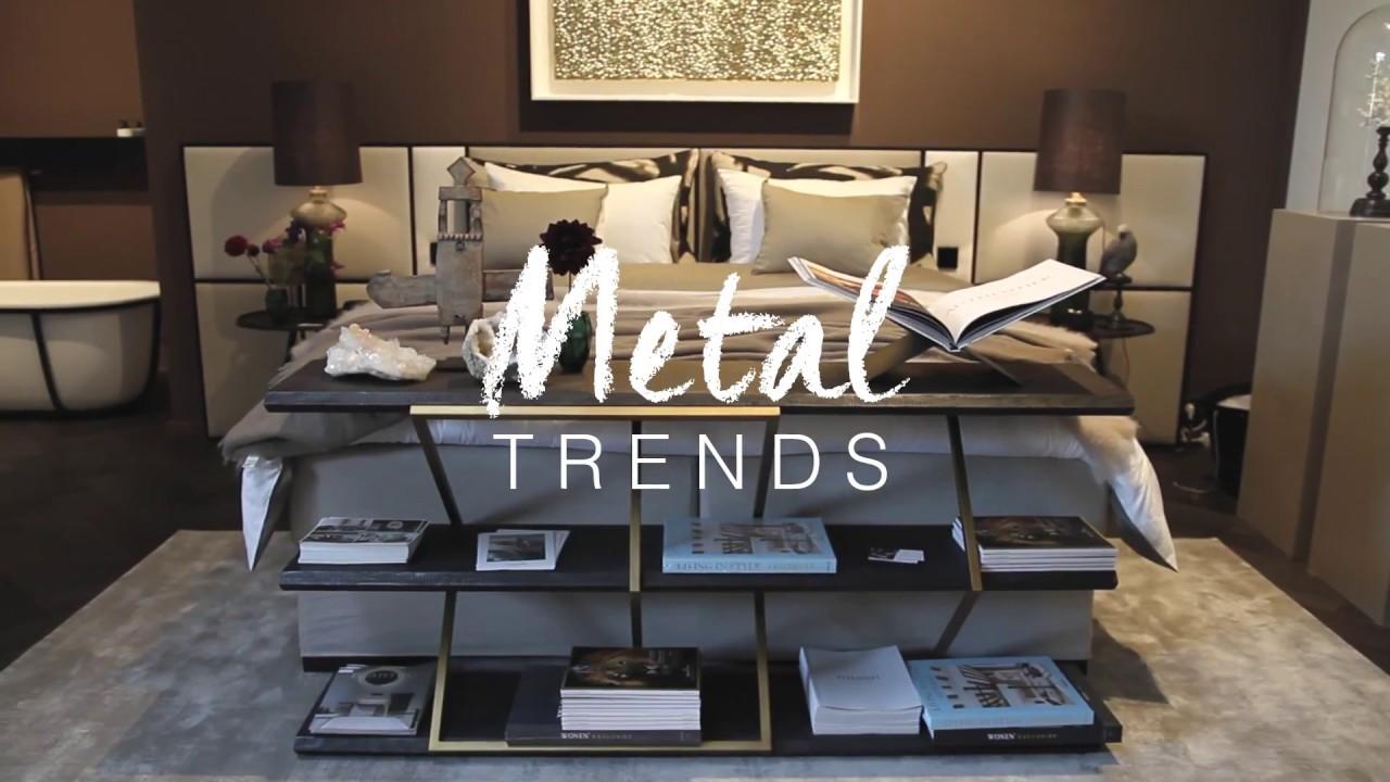 Metal trends clairz interior design salon residence youtube