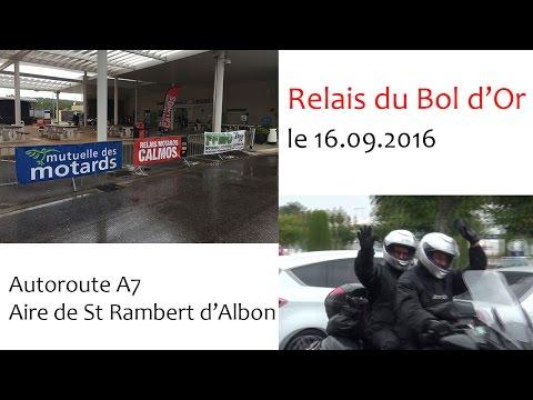 Relais du Bol D'Or sur l'A7 Aire de Saint rambert d'Albon le 16 09 2016