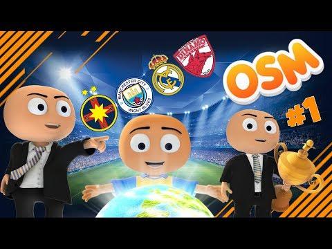 4 ECHIPE , 4 OBIECTIVE / OSM ROMÂNIA (ONLINE SOCCER MANAGER) #!
