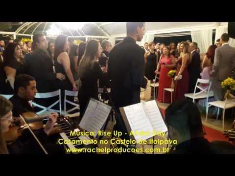 Rise Up - Andra Day - Quarteto: Teclado, Violino, Vocais Masculino e Feminino