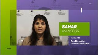 2020 GGEF Star of Asia Award Winner   Sahar Mansoor, Founder & CEO of Bare Necessities Zero Waste