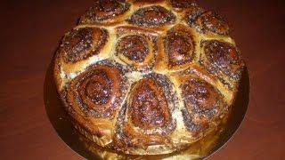 Выпечка рецепты, пирог с маком, рецепт маковый пирог