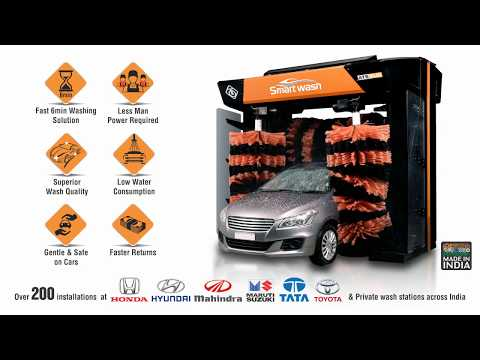 Smart Wash-HP, ATS ELGI's Upgraded Fully Automatic Car Washer