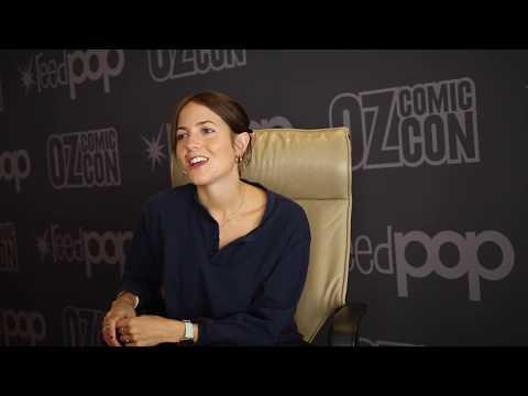 Catrin Stewart talks Doctor Who  Pt 1  Oz Comic Con Sydney 2017