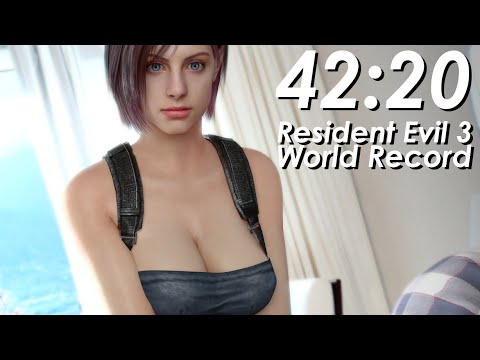 Resident Evil 3 Speedrun World Record - 42:20