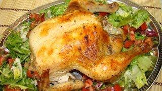 Курица в рукаве