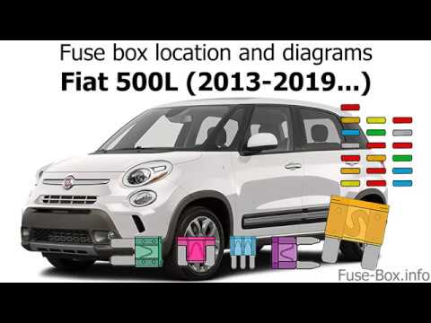 fuse box location and diagrams: fiat 500l (2013-2019) - youtube  youtube
