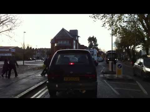 London streets (260.) - Vauxhal (SW8) - Middleton road (SM4)