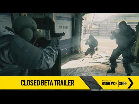 Tom Clancy's Rainbow Six Siege – Closed Beta Trailer [EUROPE]