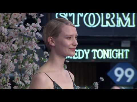 Alice Through The Looking Glass European Premiere - Johnny Depp, Mia Wasikowska, Isla Fisher