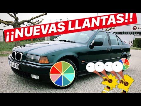 ¡NUEVAS LLANTAS PARA MI NUEVO BMW E36 BERLINA POR 80€!