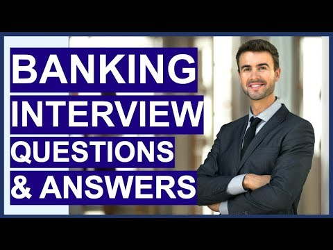BANKING Interview Questions And Answers! How To Pass A Retai