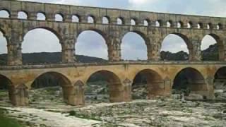 Pont Du Gurd Roman Aqueduct France