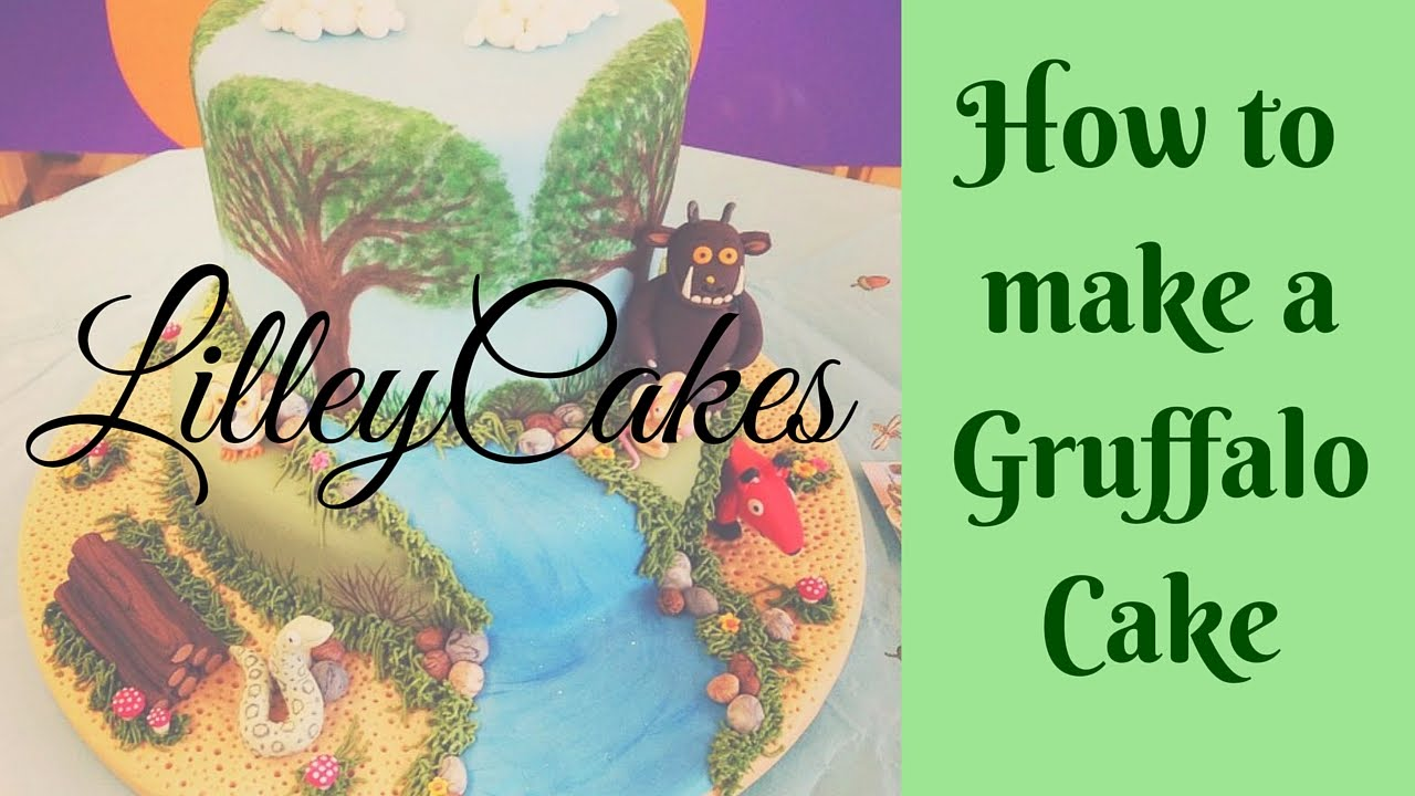 Make A Gruffalo Cake Topper