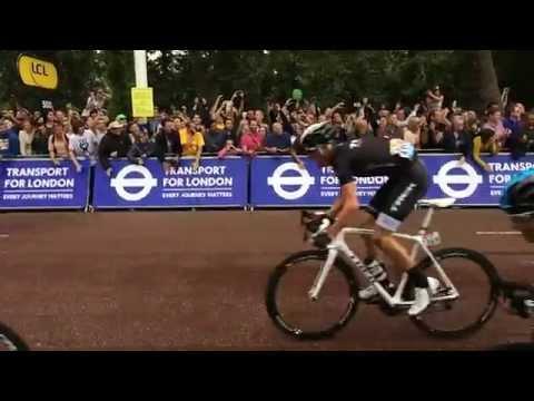 Tour de France stage 3 last 500 metres. 120fps.