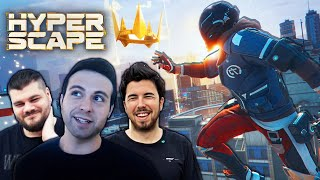 HYPER SCAPE! *NUEVO* BATTLE ROYALE DE UBISOFT (Willy, Vegetta y Angel)