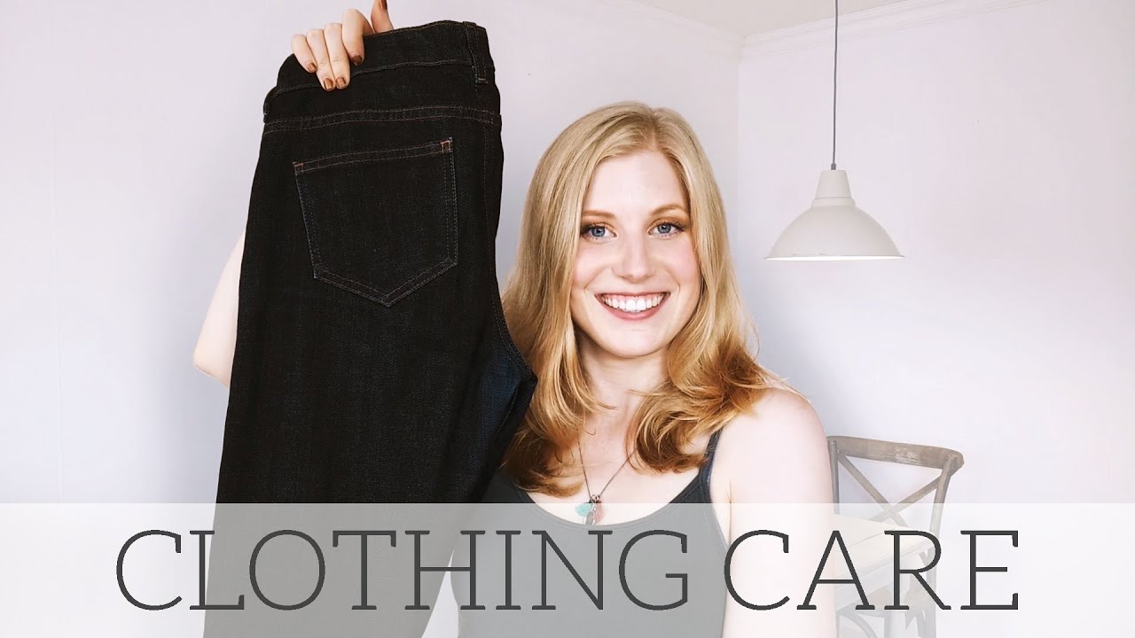How to Care for your Clothes & 'No-Wash' Jean Experiment