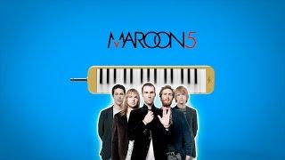 """Como tocar:  """"SUGAR"""" - Maroon 5 [ MELODICA ][ TUTORIAL ][ NOTAS ]"""