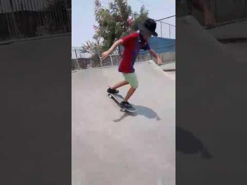 Línea en puente skate