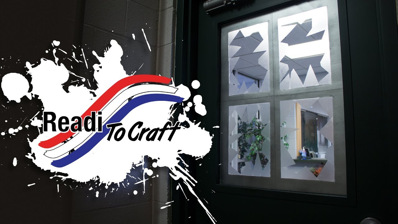 Readi to Craft: Faux Broken Window