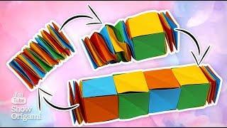 Змейка кубик |  Как сделать игрушку из бумаги  | Игрушка Антистресс своими руками