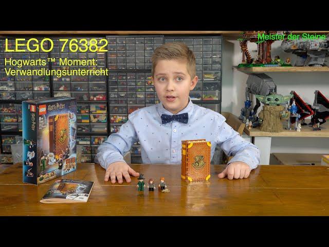 Lego 76382, Hogwarts™, Moment: Verwandlungsunterricht, Transfiguration Class,  Meister der Steine
