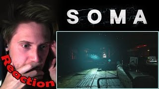 SOMA - Gameplay Trailer REACTION! | AMNESIA MEETS BIOSHOCK! |