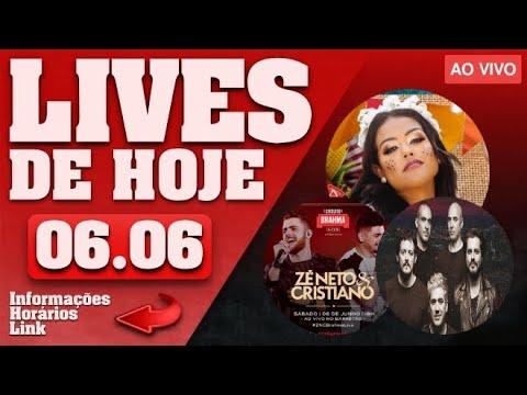 lives-de-hoje-(sÁbado-06/06-ao-vivo)---lives-ao-vivo