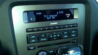 2014 Ford Mustang - SYNC Bluetooth Cell Phone Demo