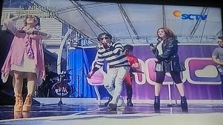 RADJA Feat. Via Vallen & Maisaka - Tak Mungkin [live] Bogor