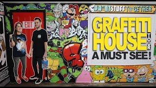 OUR GRAFFITI HOUSE TOUR