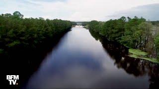 Ouragan Florence: les autoroutes sont à présent transformées en fleurve en Caroline du Nord