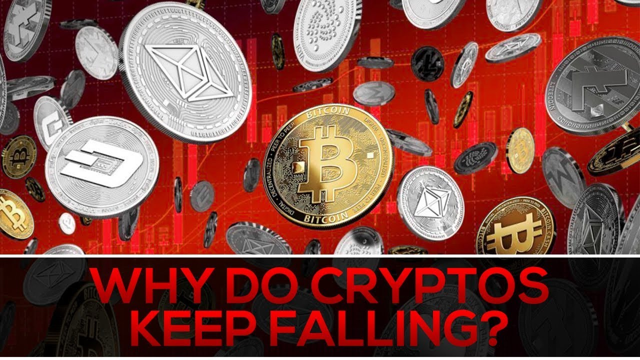 why is cryptocurrency falling today